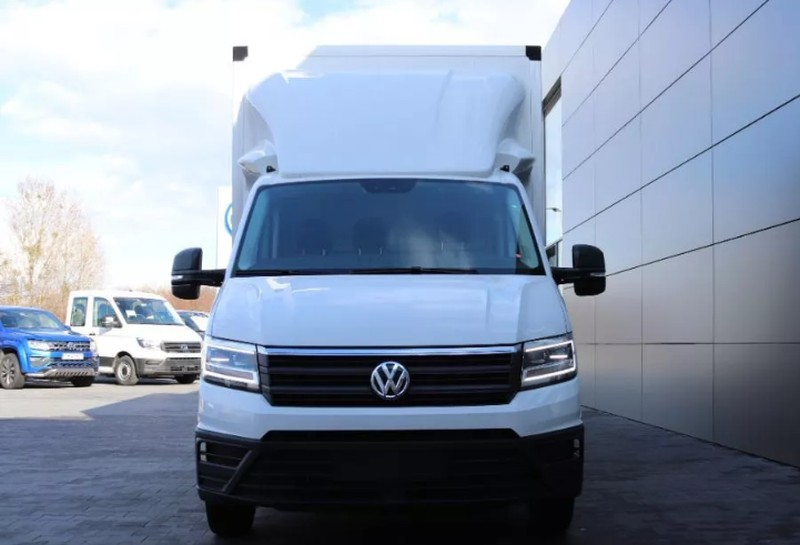 Volkswagen Crafter 177KM Manual Diesel Kontener + Winda