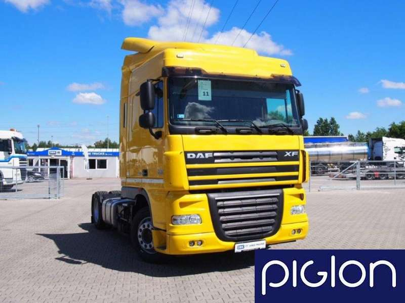 DAF FT XF 105 460 LOW DECK Euro 5 2013 SpaceCab Automat | ID 1100